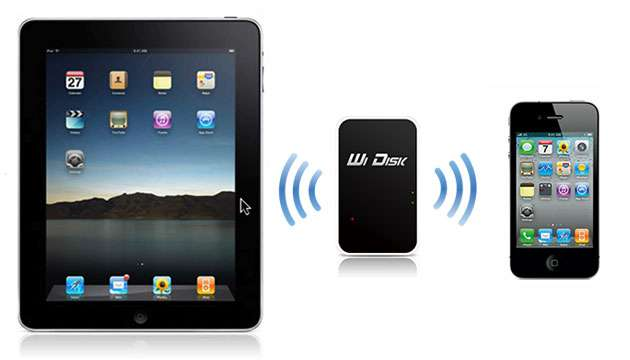 HD Externo Wireless Wi Disk - iOS e Android