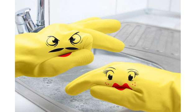 Luvinhas de Lavar Louças DISHPLAY (Fred e Friends)