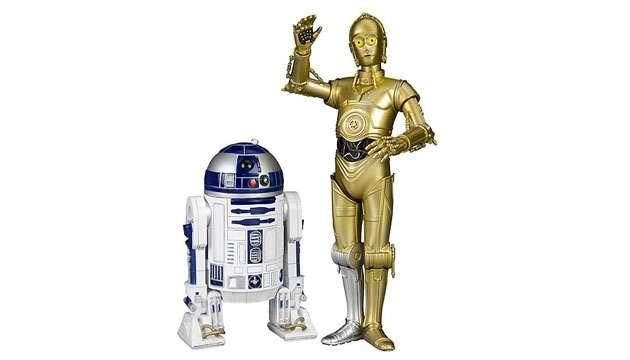 Pack c/ 2 Estátuas Star Wars R2-D2 e C-3PO ArtFX