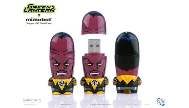Pen Drive Mimobot® DC Comics SINESTRO - 4GB