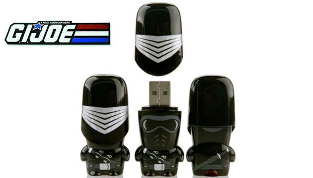 Pen Drive Mimobot® G.I. Joe SNAKE EYES - 8GB
