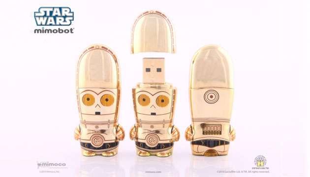 Pen Drive Mimobot® Stars Wars C-3PO - 4GB