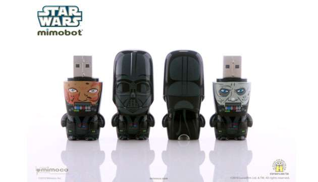 Pen Drive Mimobot® Stars Wars DARTH VADER - 4GB e 8GB