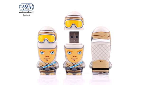 Pen Drive Mimobot® Stars Wars HOTH LUKE - 8GB