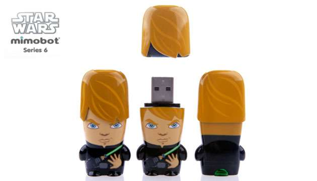Pen Drive Mimobot® Stars Wars LUKE SKYWALKER - 8GB