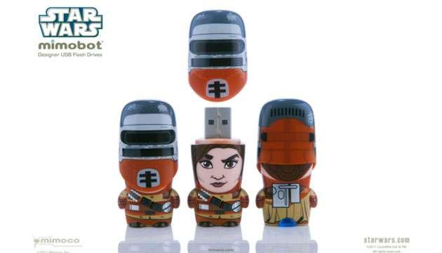 Pen Drive Mimobot® Stars Wars PRINCESA LEIA - 4GB