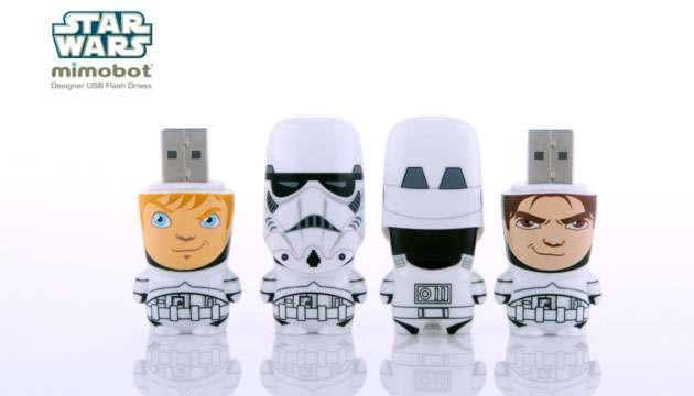 Pen Drive Mimobot® Stars Wars STORMTROOPER - 4GB