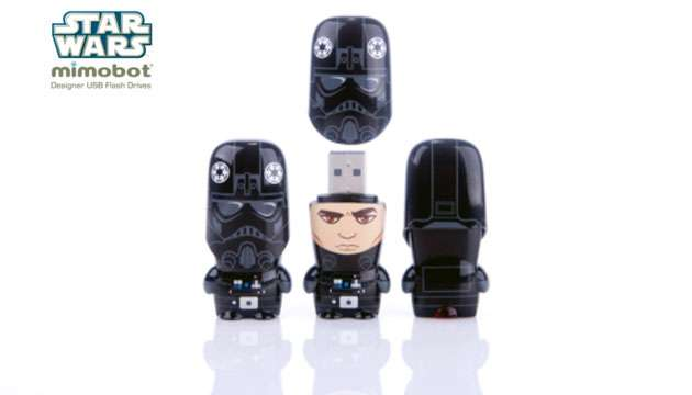 Pen Drive Mimobot® Stars Wars TIE FIGHTER PILOT - ...