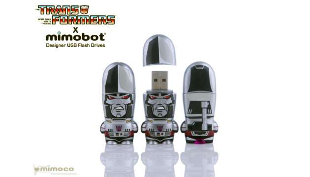 Pen Drive Mimobot® Transformers MEGATRON - 4GB