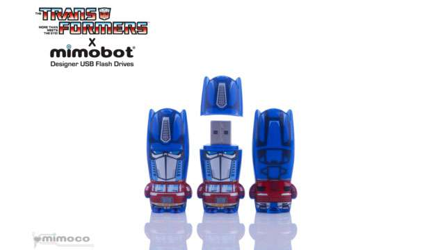 Pen Drive Mimobot® Transformers OPTIMUS PRIME - 8GB