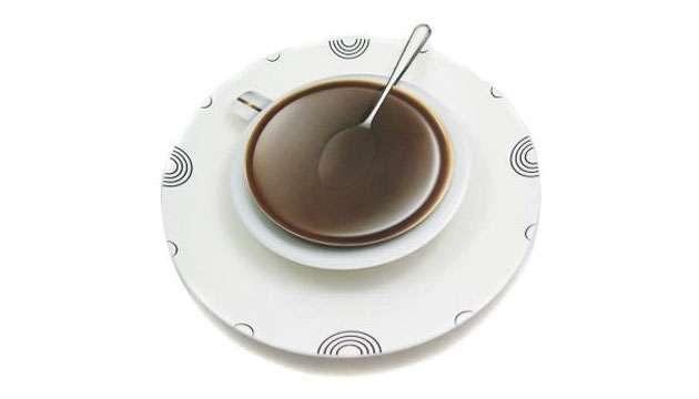 Relógio de Parede CAFÉ TIME