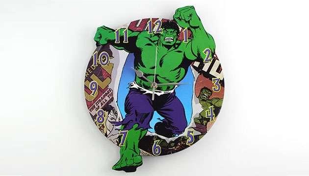Relógio de Parede HULK (Oficial Marvel)