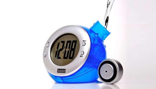 Relógio Ecológico Movida A Àgua