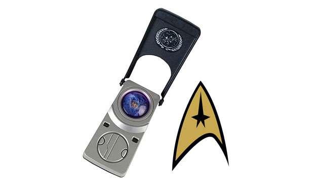 Réplica do Comunicador Eletrônico Star Trek