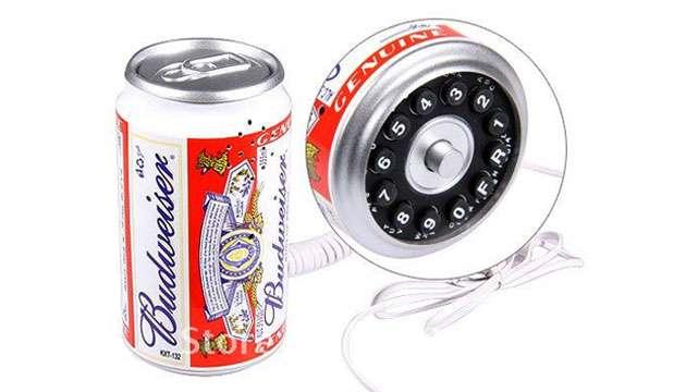 Telefone Lata Budweiser