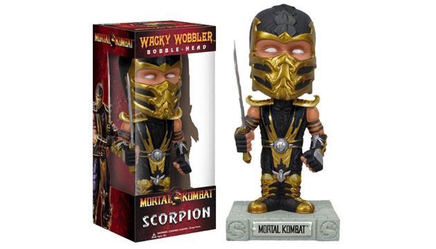 Boneco Bobble Head Funko SCORPION Mortal Kombat