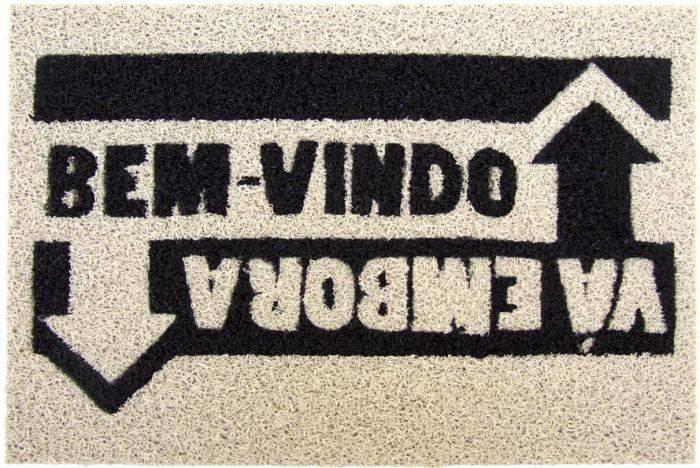 Capacho-Bem-vindo|Vá EmboraPrata