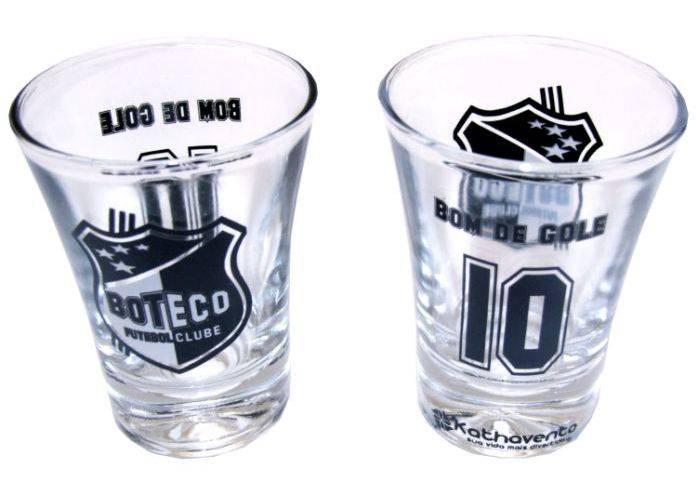 Jogo de 2 copos campana Camisa 10 Boteco F.C.sem-cor