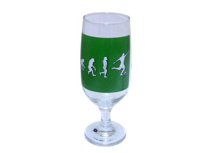 Taça de cerveja Evolução do Futebol