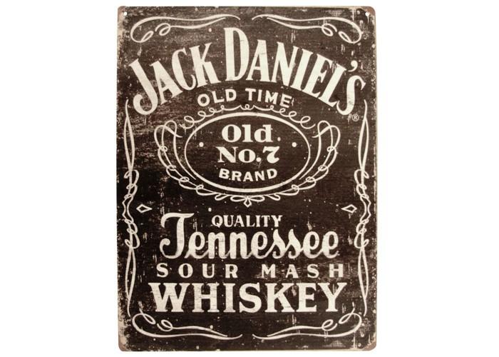 Placa Jack Daniels 30x20cm
