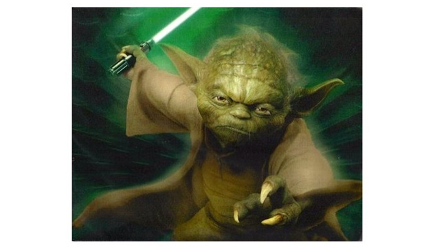 Mouse Pad STAR WARS Yoda
