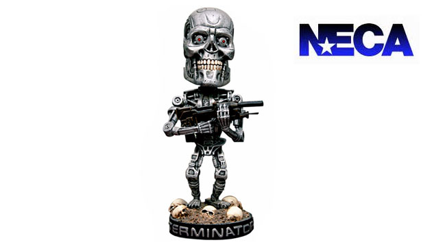 Boneco Bobble Head Neca EXTERMINADOR DO FUTURO