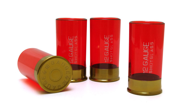 Conjuntos de Copos SHOT Bala Calibre 12