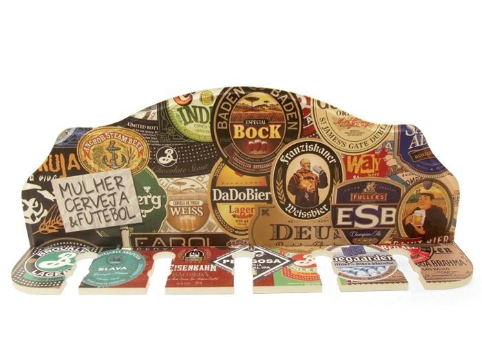 Porta-Espeto Rótulos de Cerveja