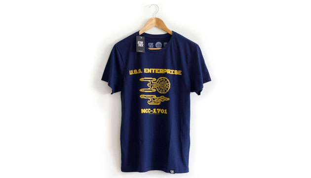 Camiseta ENTERPRISE 8 bit - Star Trek