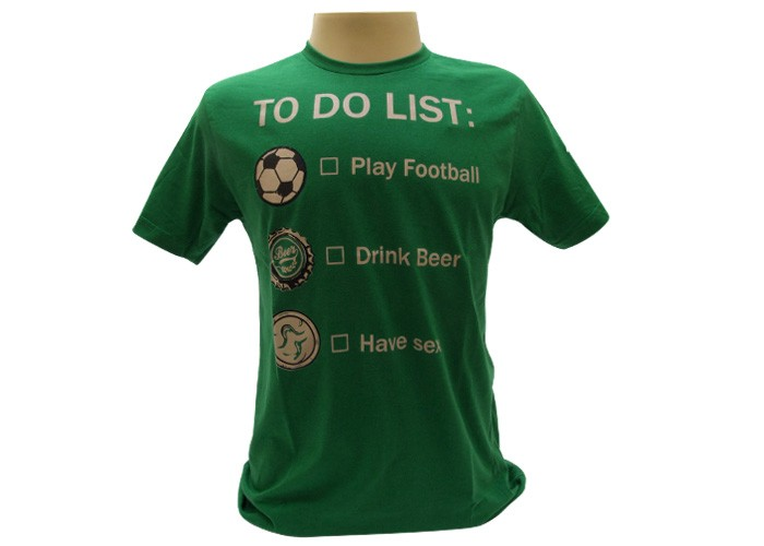 Camiseta to do list