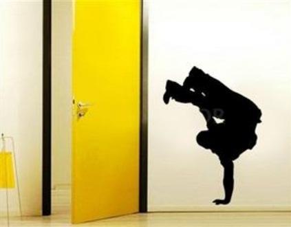 Adesivo de Parede - Street Dancer