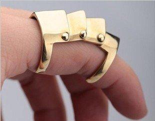 Anel de Dedo Inteiro Armadura (3 cores)