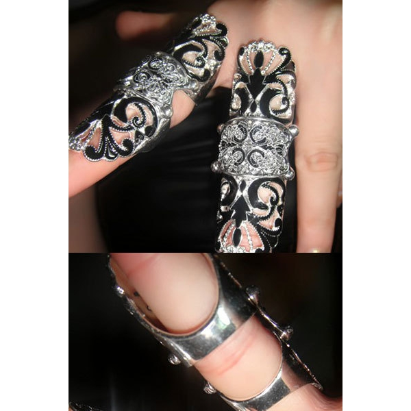 Anel de dedo Inteiro estilo Árabe
