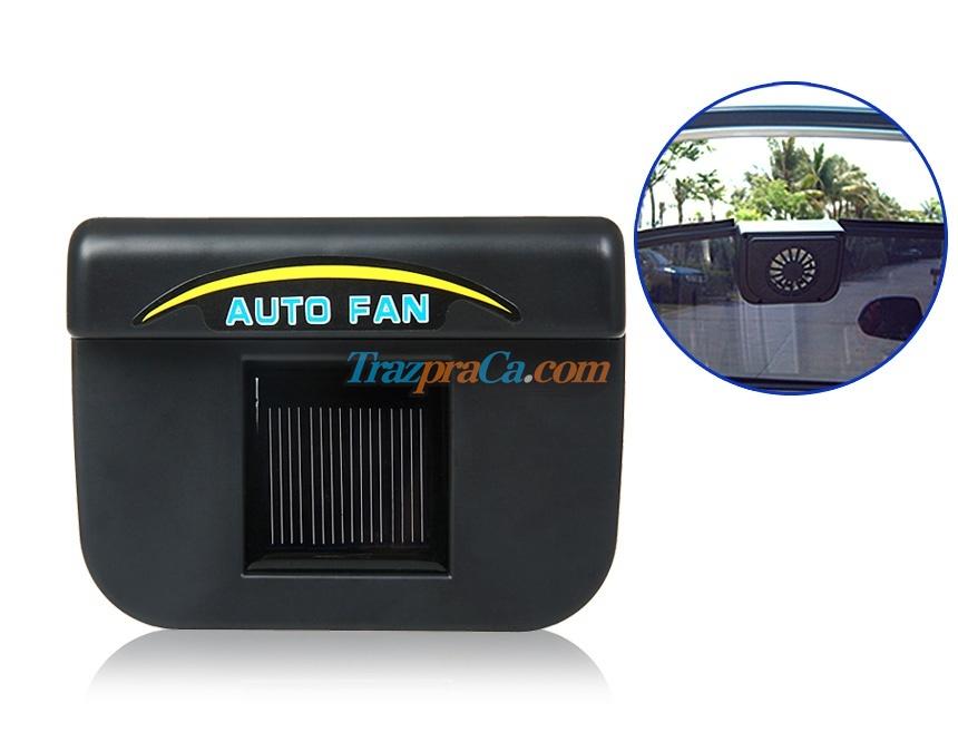 Auto Fan - Sistema de Ventilação para Carro Movido a Energia Solar