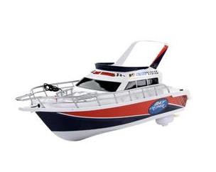 Barco de Corrida com Controle Remoto