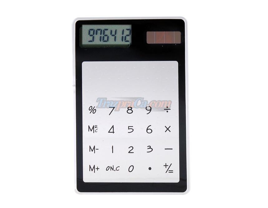 Calculadora Transparente com Bateria Solar
