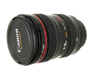 Caneca Lente Canon
