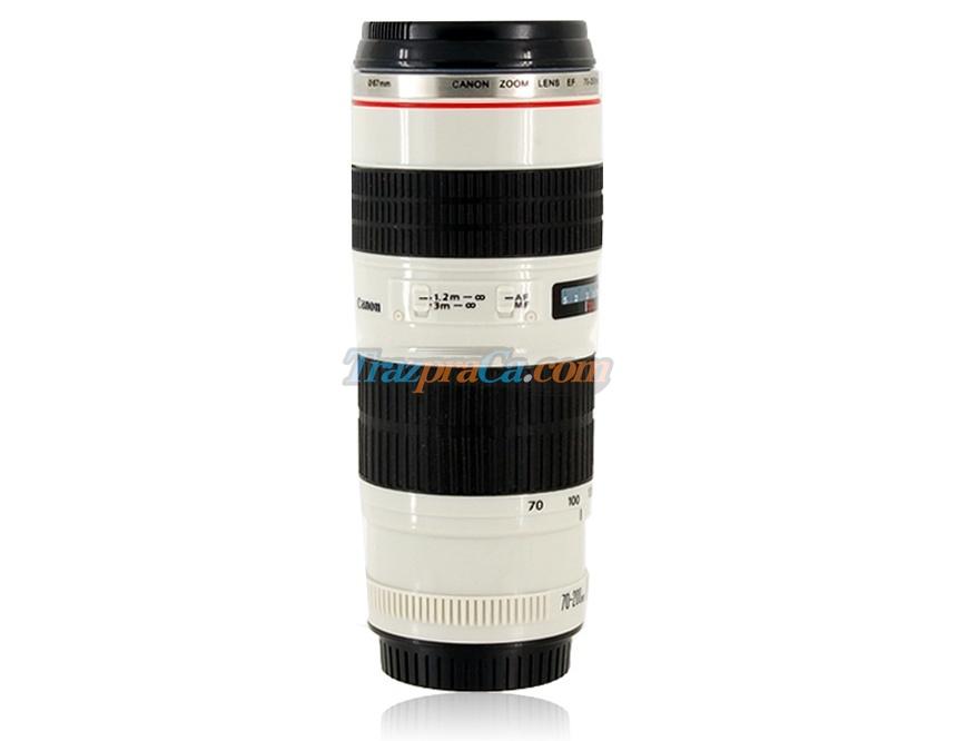 Caneca Térmica Modelo Canon EF 70-200mm F/4