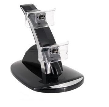 Carregador de controles para Playstation 3 (Preto) - GP Coupe