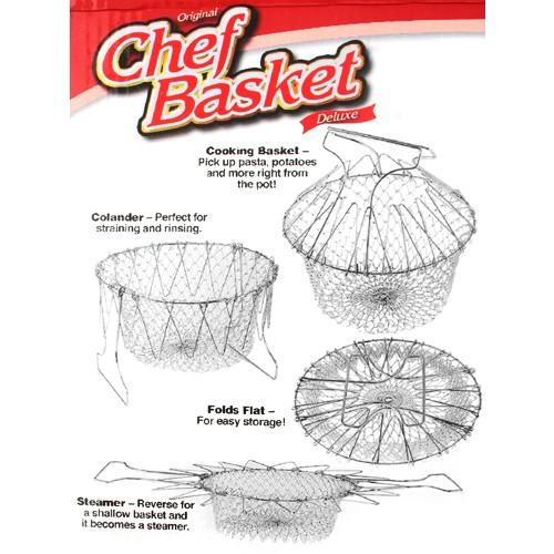 Chef Basket - Cesta de Cozinhar Multi-Uso