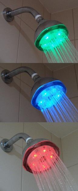 Chuveiro LED de Parede