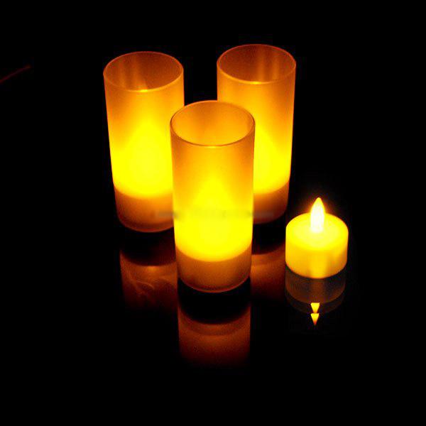 Conjunto de 3 Velas LED Decorativas - Compre Mais Pague Menos - Veja o Vídeo!