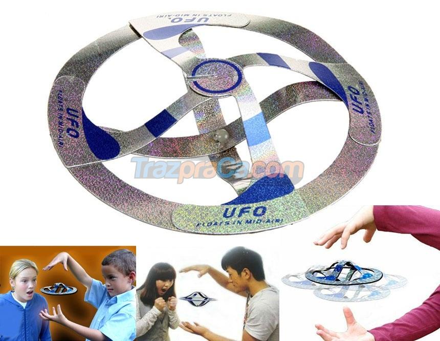 Disco Voador UFO Mágico - Brinquedo Voador