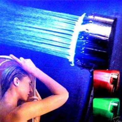 Ducha de LED