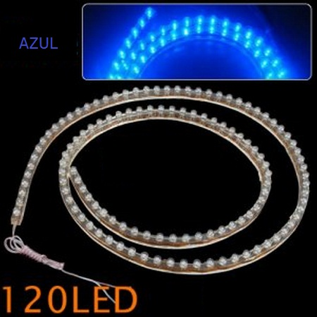 Fita LED 12v com 120 LED a prova dagua (3 cores para escolher)