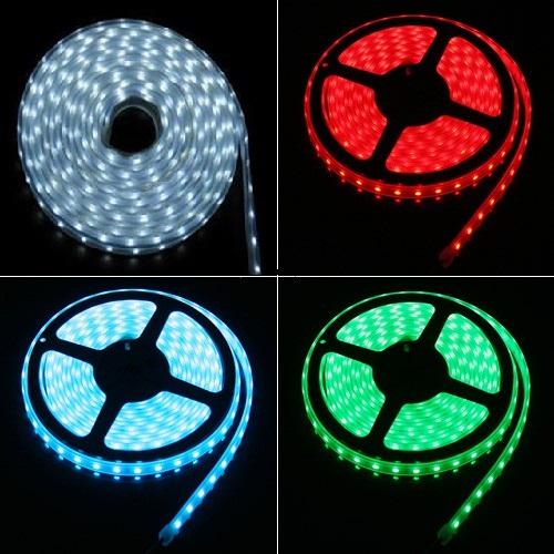 Fita LED SMD 1210 12v com 5M e 300 LED (4 cores para escolher)