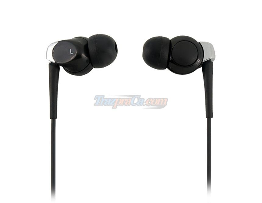 Fones de Ouvidos 300Stereo (Preto - Branco)