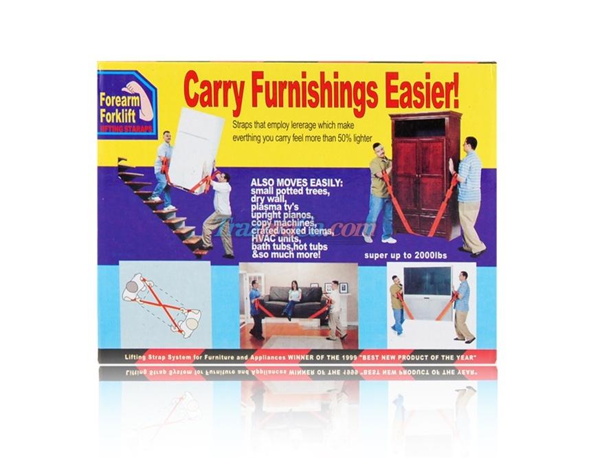 Forearm Fork Lift Cinto Movedor de Mobília