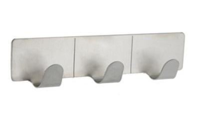 Ganchos de Parede em Aço Inoxidável com adesivo