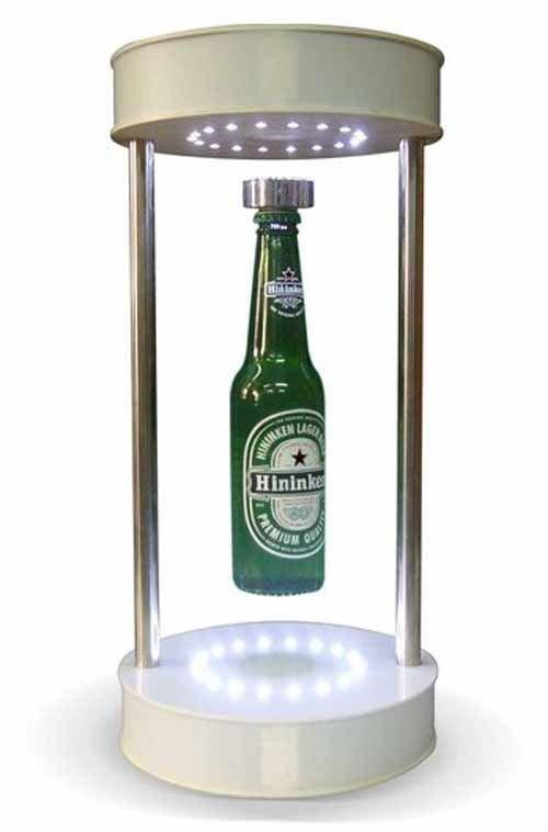 Garrafa de Bebida Flutuante e Rotativo com 18 LED